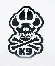 """K-9 UNIT POLICE DOGS TACTICAL US ARMY MORALE CAR VEHICLE WINDOW DECAL STICKER 6"""""""