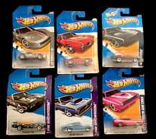 Hot Whhels Lot Of 6 Unopened ( See List In Discription)