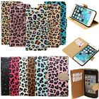 Leopard PU Leather Flip Wallet Card Stand Case Cover For iPhone 4 4S 5 5S 6 Plus