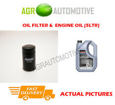 PETROL OIL FILTER + SS 10W40 ENGINE OIL FOR SUZUKI JIMNY 1.3 86 BHP 2004-