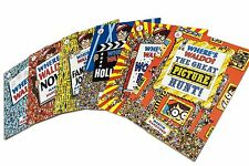 Where's Waldo? The Wow Collection: 6 Amazing Books and a Puzzle FREE2DAYSHIPPING
