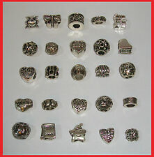 WHOLESALE LOT: SET OF 25 ANTIQUE SILVER PLATED BEADS