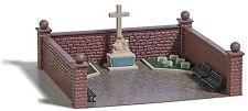 BUSCH 1094 HO Bausatz Soldatenfriedhof mit Kriegerdenkmal #NEU in OVP#