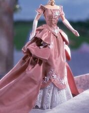 Beautiful Peach pink wedgewood Barbie gown