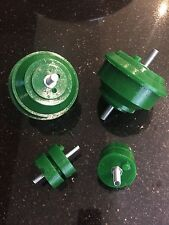 PAIR BMW E46 330D Engine & Gearbox Mountings GREEN Polyurethane