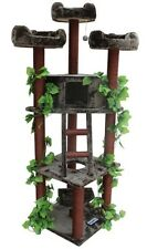 Redwood Kitty Condo Cat Tree House Scratching Post Trees Condos Furniture Tower