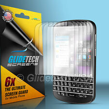 6X Super HD Clear Screen Protector Cover Shield Film For Blackberry Q10