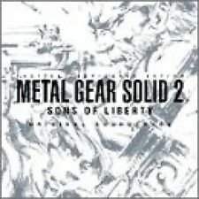 Metal Gear SOLID II 2 SONS OF LIBERTY 1 SOUNDTRACK CD