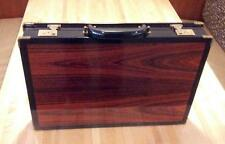 attache/brief case brazilian rosewood gd for tablet