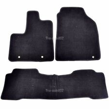 Fit For 01-06 Acura MDX 4Dr 3Pcs Nylon Front&Rear Floor Mats Carpet