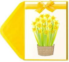 """""""Wishing You a Beautiful Easter & Happy Spring"""" 3D/HM PAPYRUS CARD $8 Retail"""