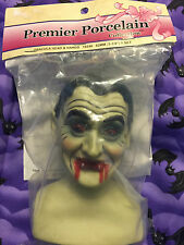 Premier Porcelain Dracula Head & Hands Kit to Make Halloween Vampire Doll