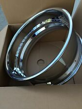 22x9 Chrome Barrel With 3.5 Lip 40 Hole,Asanti,HRE,MHT,& MOST 3 PC. WHEELS