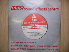 "BBC Sound Effects 7"" Record - Diesel Electric Train (Interior) English Vulcan"