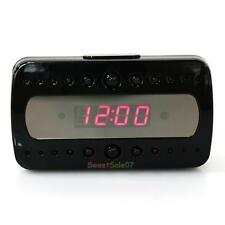 HD1080P Wireless IP Spy Hidden Camera Motion Security Alarm Clock IR DV Cam New