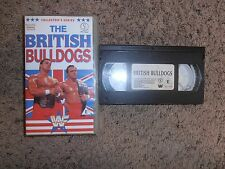 WWF THE BRITISH BULLDOGS PAL VHS