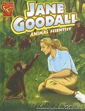 Jane Goodall: Animal Scientist (Graphic Biographies)-ExLibrary
