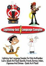 Lightning-Fast Language Sampler for Kids and Families : Learn, Speak and...