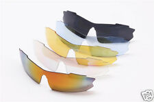 New 5 Shades with 1 Polarized Lens Sports Sunglasses Set