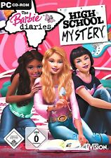 The Barbie Diaries - High School Mystery für Pc Neu/Ovp