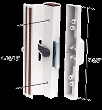 """White Clamp - Style Surface Mount Handle 4-15/16"""" Screw Holes"""