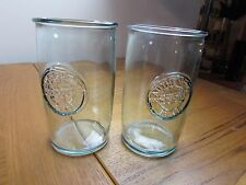 Recycled Green Glass 12 oz Tumblers Made in Spain Set of 2 NWOT