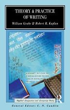 Theory and Practice of Writing: An Applied Linguistic Perspective (App-ExLibrary