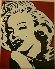 Original Marylin Monroe acrylic painting
