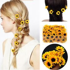 5 Boho Sunflower Hair Cuff Clip Headband Hair Pin Accessories Slide