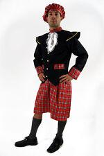 Kostüm SCHOTTE Scots Schottland Kilt Braveheart HIGHLANDER Herren Größe 48/ M