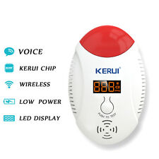 LED Digital Display CO Detector Carbon Alarm Accessories For KERUI Alarm System