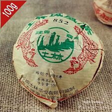 2007yr Yunnan TuLin 852 raw puer 100g Chinese sheng pu erh tea for weight loss