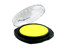 STARGAZER FLUORESCENT PRESSED POWDER EYESHADOW NEON LEMON YELLOW