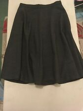 Marks And Spencer Collection Charcoal Circle Skirt Size 10