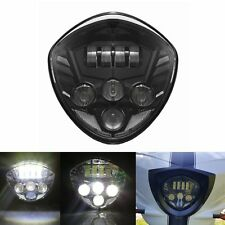 Motorcycle Cree LED Headlight Black For Victory CRUISERS CROSS MODELS 07-16