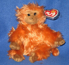 TY CHARLIE the MONKEY BEANIE BABY - MINT with MINT TAG