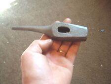 vtg unknown tool railroad spike hammer sales sample / blacksmith hole puncher