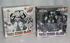 New Iron Factory Transformers IF EX-17L Light EX-17S Shadow Twin Edged Blade Set