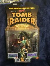 New Sealed 1997 Toy Biz Tomb Raider Figure - LARA CROFT - Video Game Superstars