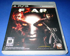 F.E.A.R. 3 Sony PlayStation 3 (PS3) Factory Sealed! Free Shipping!