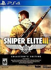 Sniper Elite III Collector's Edition (Sony PlayStation 4, 2014)-Comes with track
