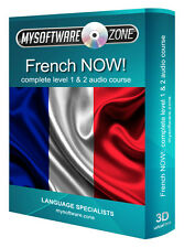 Learn to Speak French Fluently Complete Language Training Course Level 1 & 2