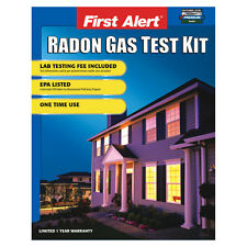 First Alert One Time Use Home Radon Gas Test Kit Detector under EPA Program