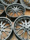 6 X 22INCH BLACK ALLOY WHEELS★5X120 PCD fit VW AMAROK★BMW X5★After Market 22x9.5