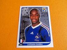 95 DIARRA FRANCE BLEUS  PANINI FOOTBALL FIFA WORLD CUP 2010 COUPE DU MONDE