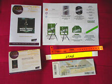 MACKLEMORE AND RYAN LEWIS CONCERT TOUR VIP PASS BACKSTAGE RARE 2016
