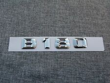 B 180 Number Letters Trunk Emblem Decal Sticker for Mercedes Benz B Class B180