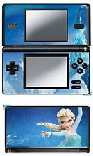DISNEY FROZEN VINYL SKIN STICKER FOR NINTENDO DS LITE REF 21 FROZEN