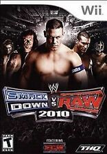 WWE SmackDown vs. Raw 2010 - Nintendo Wii Video Game Free Ship
