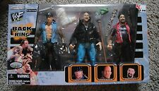 WWE BACK IN THE RING SET UNDERTAKER STONE COLD MICK FOLEY CACTUS JACK JAKKS WWF
